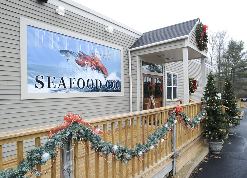 Freeport Seafood Co., located in the former Pedro O'Hara's on Route 1, is designed to accommodate crowds with four distinct sections indoors and a deck and porch out.