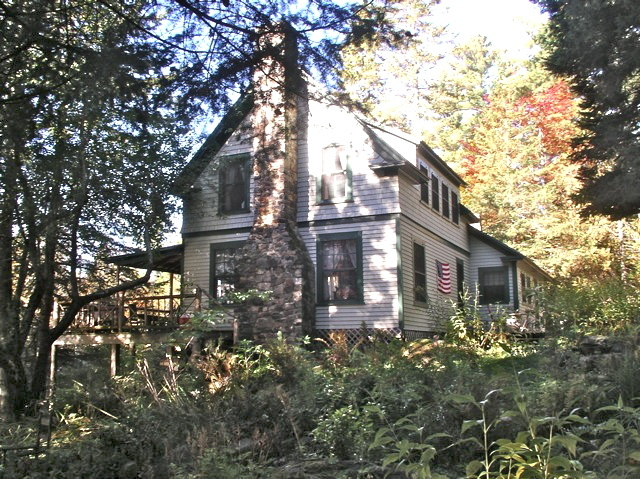 "Forest Lodge, originally built as a sporting camp before the 1900s, was listed on the National Register of Historic Places in 2008 because of its link to author Louise Dickinson Rich, who wrote ""We Took to the Woods"" when she lived there in the early 1900s."
