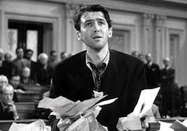 "Jimmy Stewart filibusters in ""Mr. Smith Goes to Washington."" In recent years, senators have abused their right to filibuster."