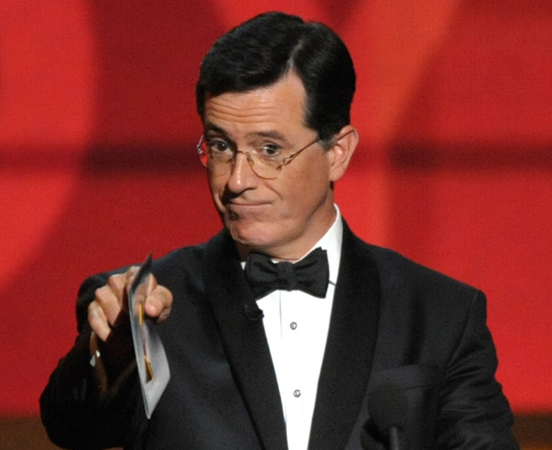 Stephen Colbert's failure to know the South Carolina state drink (milk) is costing him.