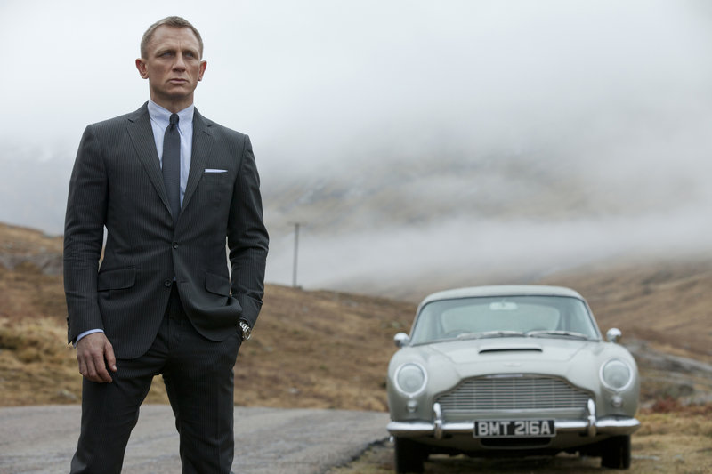 Daniel Craig as James Bond in