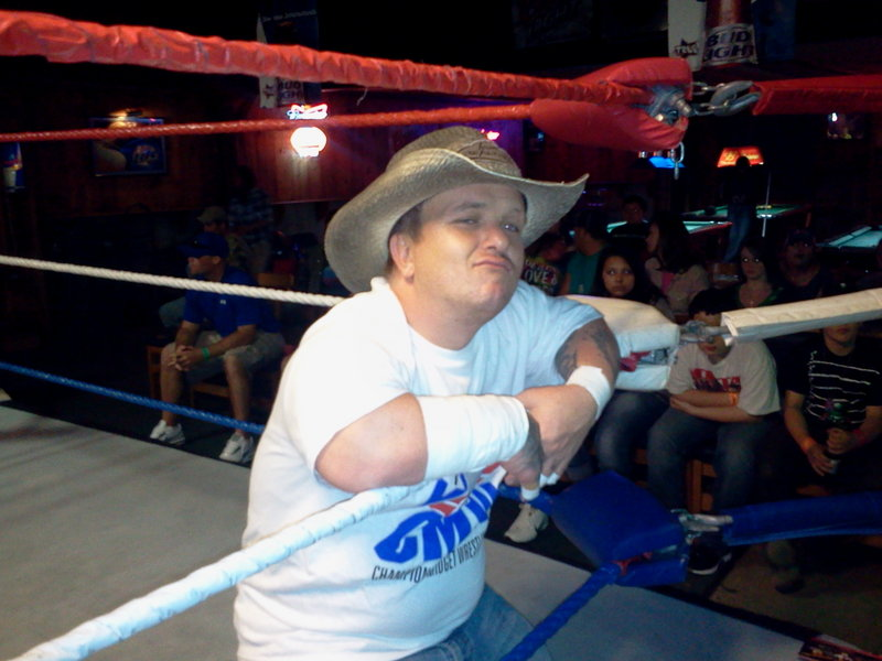 Wrestler Alex Steele with Country Sex Appeal