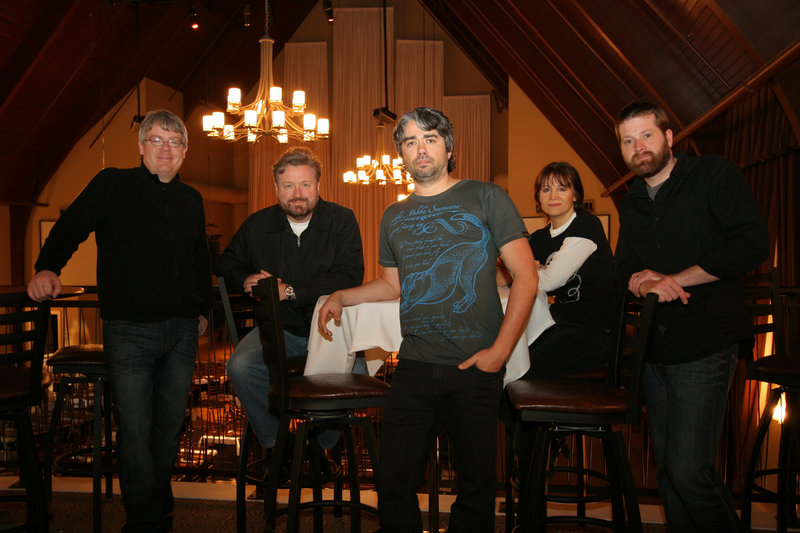 The Don Campbell Band, above, performs a holiday show on Saturday at Portland Players in South Portland.