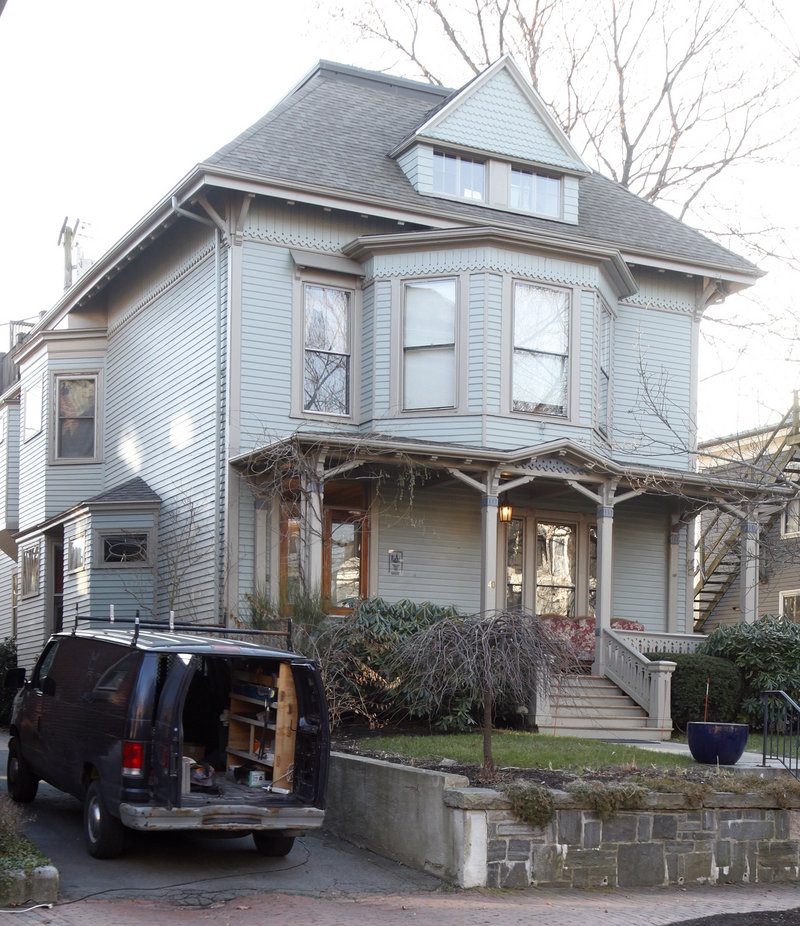 This building at 40 Deering Street is one of four buildings in Portland's Parkside neighborhood that have been bought by Foundation House, which plans to use them for residential substance abuse recovery programs. Photographed on Friday, December 14, 2012.
