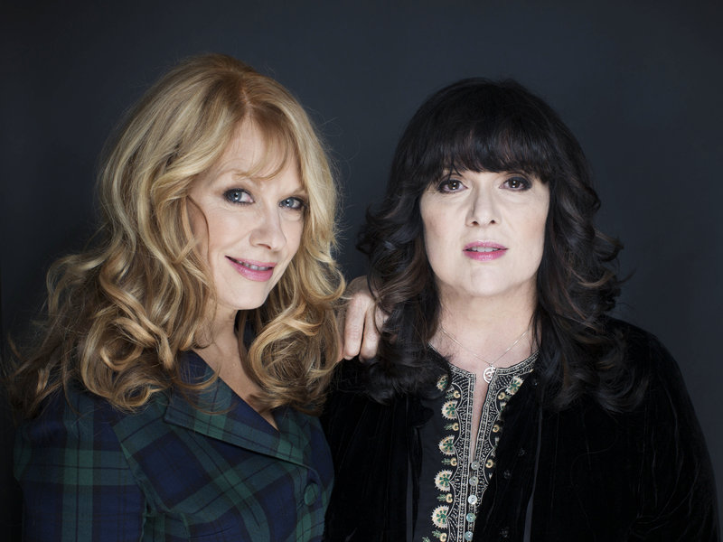 Nancy, left, and Ann Wilson will be inducted into the Rock and Roll Hall of Fame on April 18.