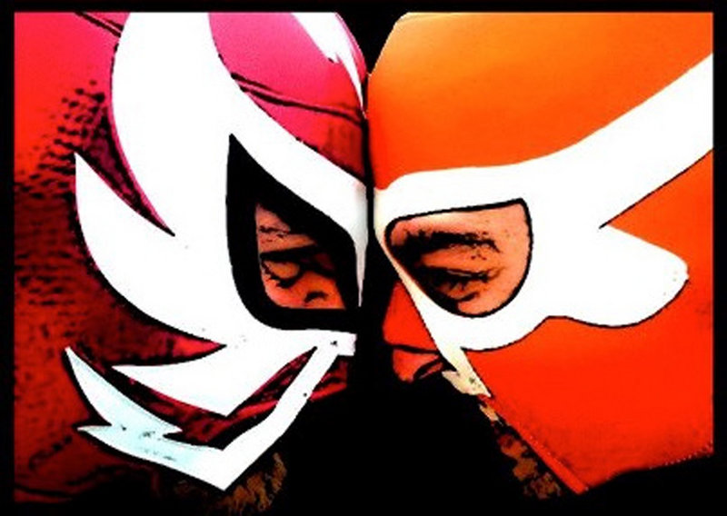 The Super Lucha Explosiva wrestling league helps welcome the new year at Space Gallery.