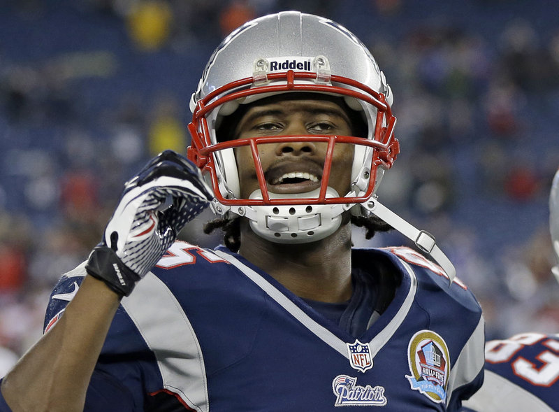 Brandon Lloyd, a one-time high jumper, has been a great catch for the Patriots offense, having snagged 67 passes.