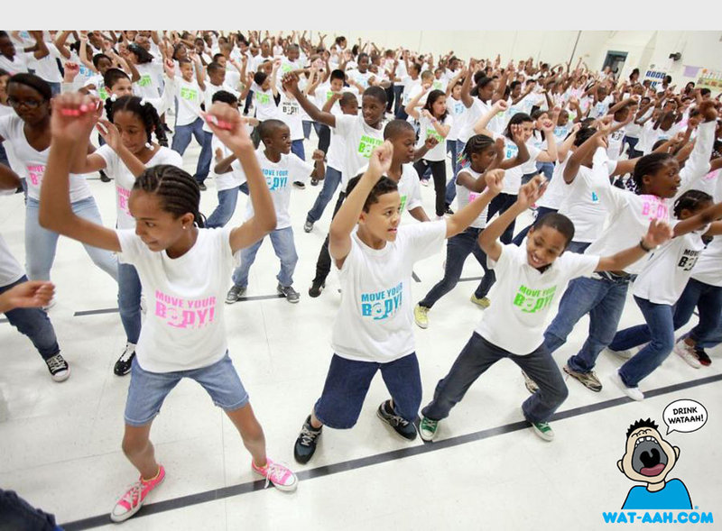 One person who has worked to reduce the obesity rate in children has been first lady Michelle Obama, whose Move Your Body campaign had students burning calories earlier this year at Oak Grove Elementary School in Durham, N.C.