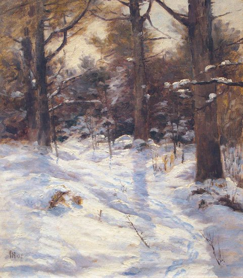 "John Calvin Stevens' ""Winter Sunshine,"" 1907"