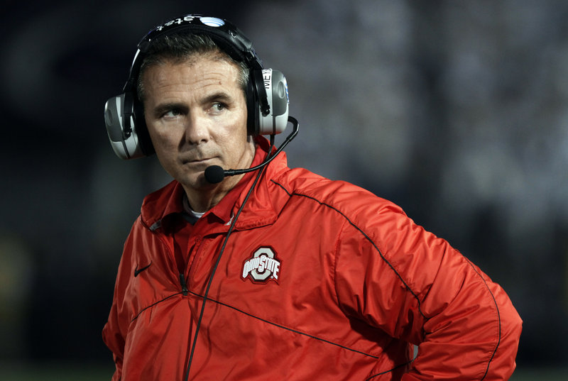 Ohio State Coach Urban Meyer isn't one to dwell on what-ifs, but he can't help but think his Buckeyes would be a prime contender for the NCAA national championship.