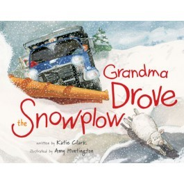 "She followed her first book up with No. 2, ""Grandma Drove the Snowplow."""