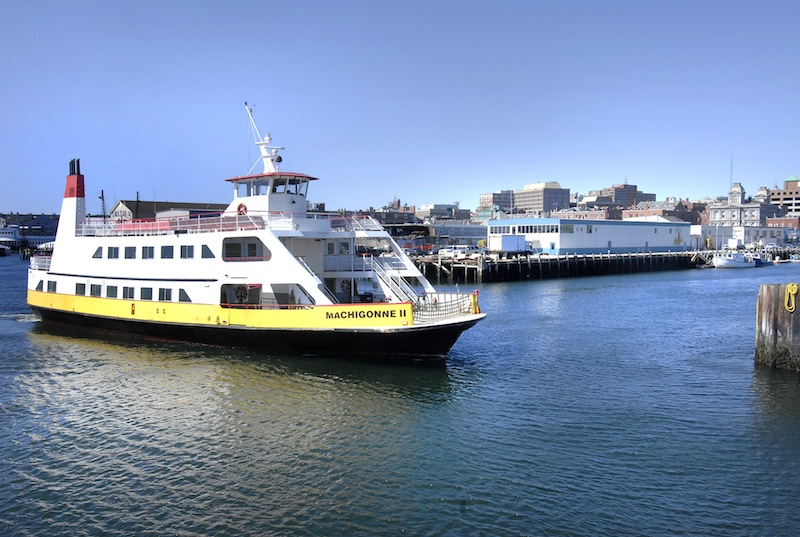 In this 2008 file photo, the Casco Bay Lines ferry Machigonne ll. The car ferry to Peaks Island is being taken out of service Monday afternoon and Tuesday morning because of a mechanical failure.