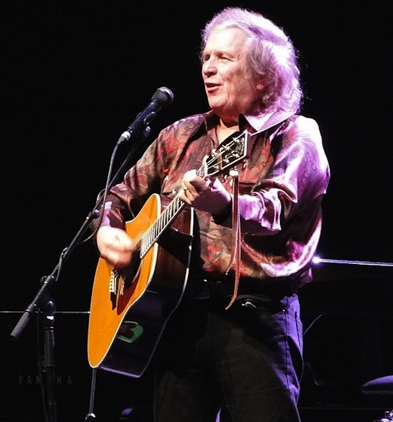 Don McLean performs at London's Royal Albert Hall in October 2012.