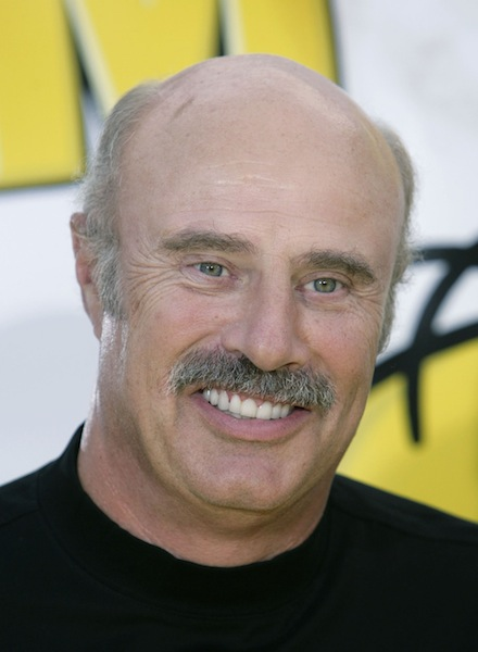 In this July 24, 2007 file photo, Dr. Phil McGraw is shown in Los Angeles. McGraw has booked the first on-camera interview with the man who allegedly concocted the girlfriend hoax that ensnared Notre Dame football star Manti Te'o, confirmed on Friday, Jan. 25, 2013, by a spokesperson for the