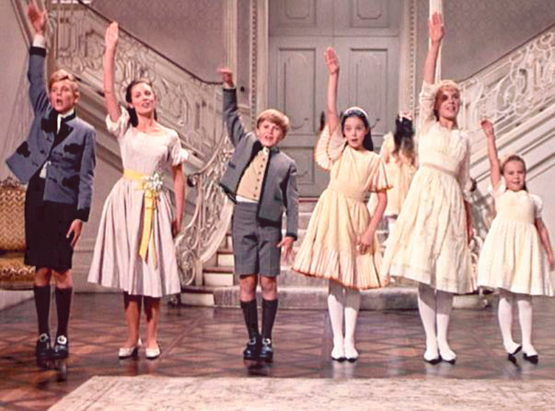 "Scenes from ""The Sound of Music."" Generations have grown up with the movie, seeing it on TV, video or DVD long after its theatrical release."