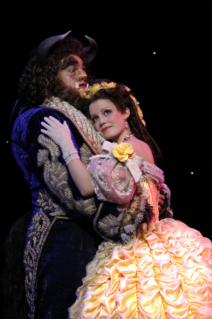 "The stage version of Disney's ""Beauty and the Beast"" is in Portland Friday and Saturday."