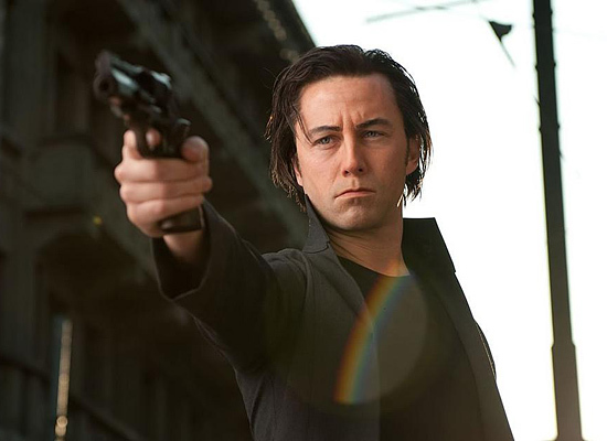 "Joseph Gordon-Levitt in ""Looper."""