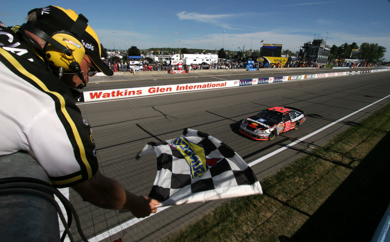 NASCAR drivers aren't the only winners at tracks like the one at Watkins Glen, N.Y. A loophole allows track builders to accelerate depreciation. The cost: $43 million a year.