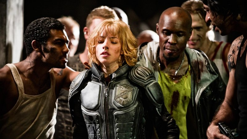 "Olivia Thirlby in ""Dredd."""