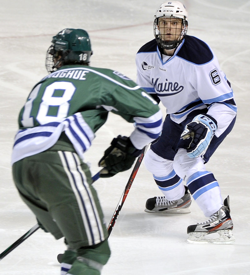 Freshman defenseman Kyle Williams says the Black Bears are a different team than the one that started so slow out of the Hockey East gate this season.