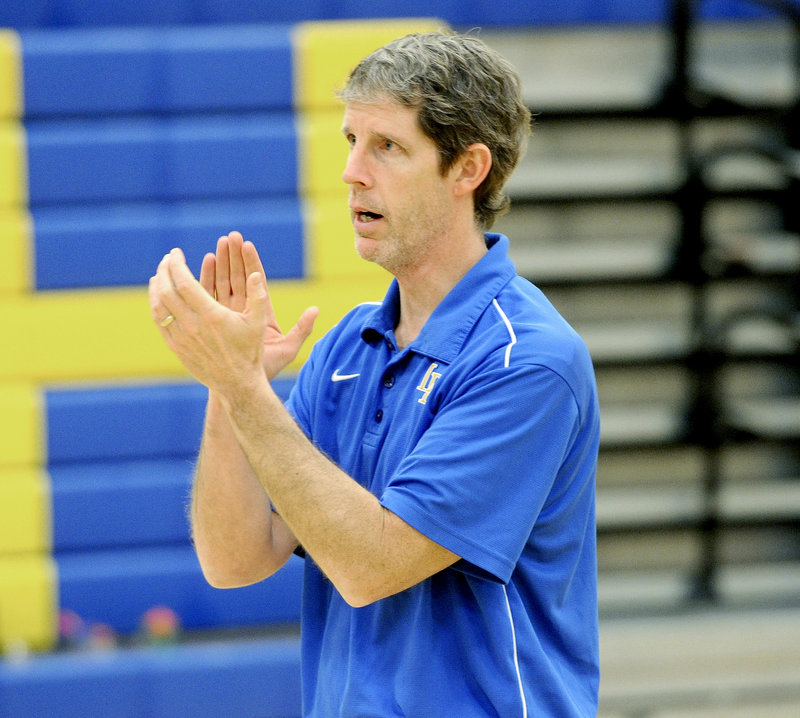 "Paul True, Lake Region High School girls' basketball coach: ""Parents are much more involved, and it can be a very positive situation if the coach fosters that relationship and puts an emphasis on communication."""