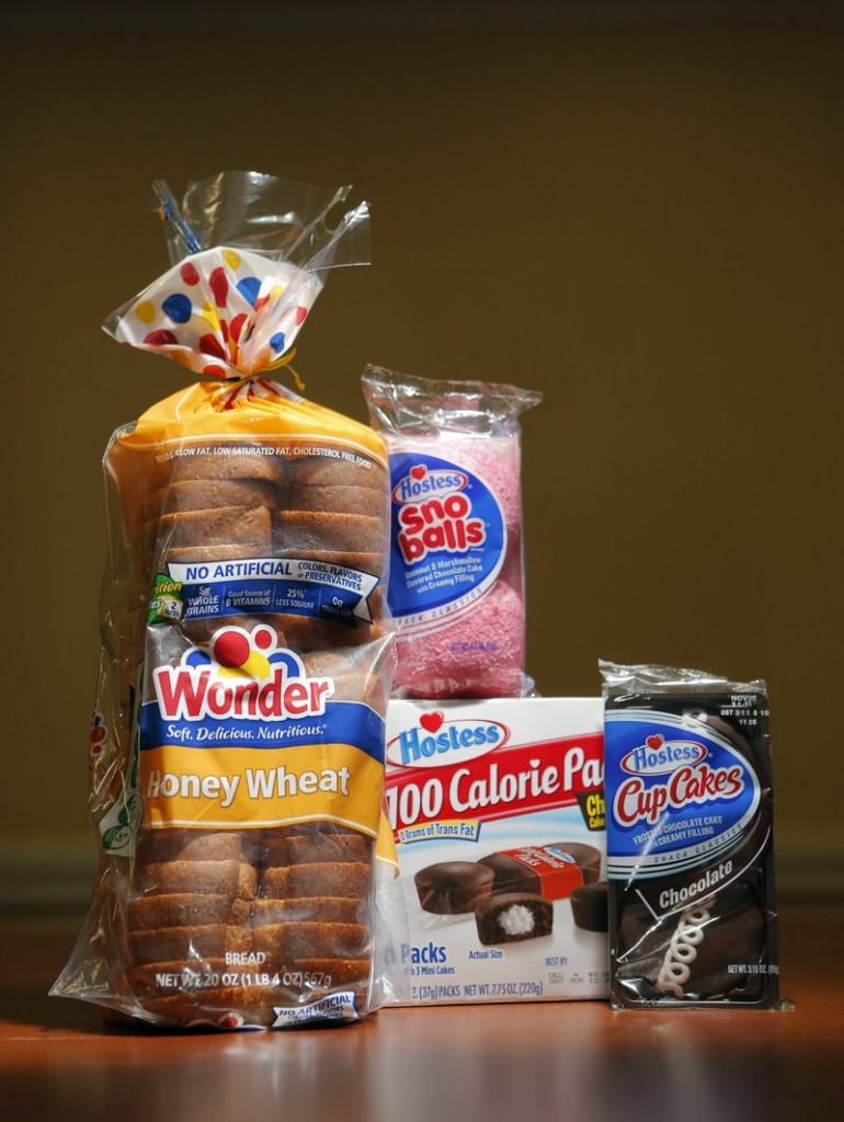 The Hostess Brands Inc. products that were made in Biddeford included: CupCakes, Sno Balls, mini CupCakes and a variety of Wonder and J.J. Nissen breads. Employees of the Biddeford plant went on strike because Hostess was misappropriating pension funds, not because they wanted higher wages, a reader says.