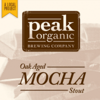 Peak Organic's Oak Aged Mocha Stout should be imbibed slowly, to fully savor and enjoy its complexity.