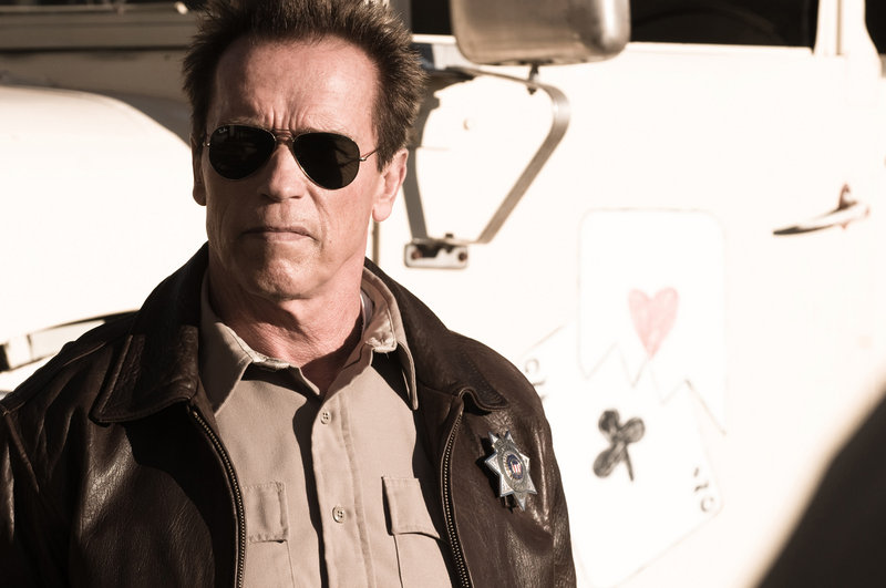 "Arnold Schwarzenegger is back in action-hero mode in ""The Last Stand."" Forest Whitaker, below, also stars."