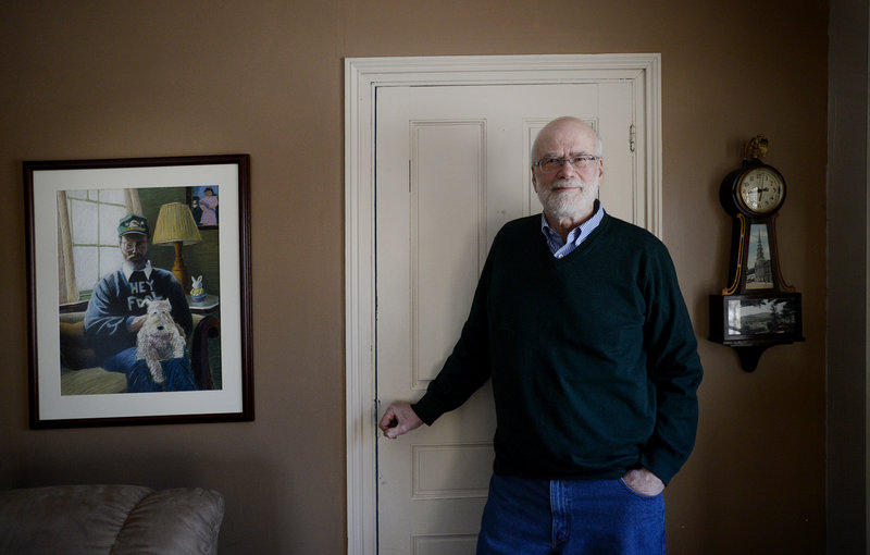 """Wesley McNair, at home in Mercer, this week releases """"The Words I Chose: A Memoir of Family and Poetry."""""""