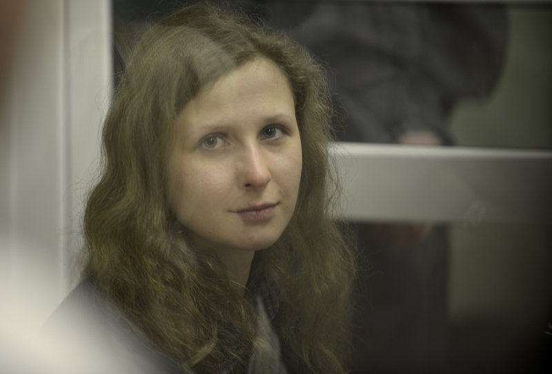 Jailed feminist punk band Pussy Riot member Maria Alekhina is worried about missing her son's childhood.