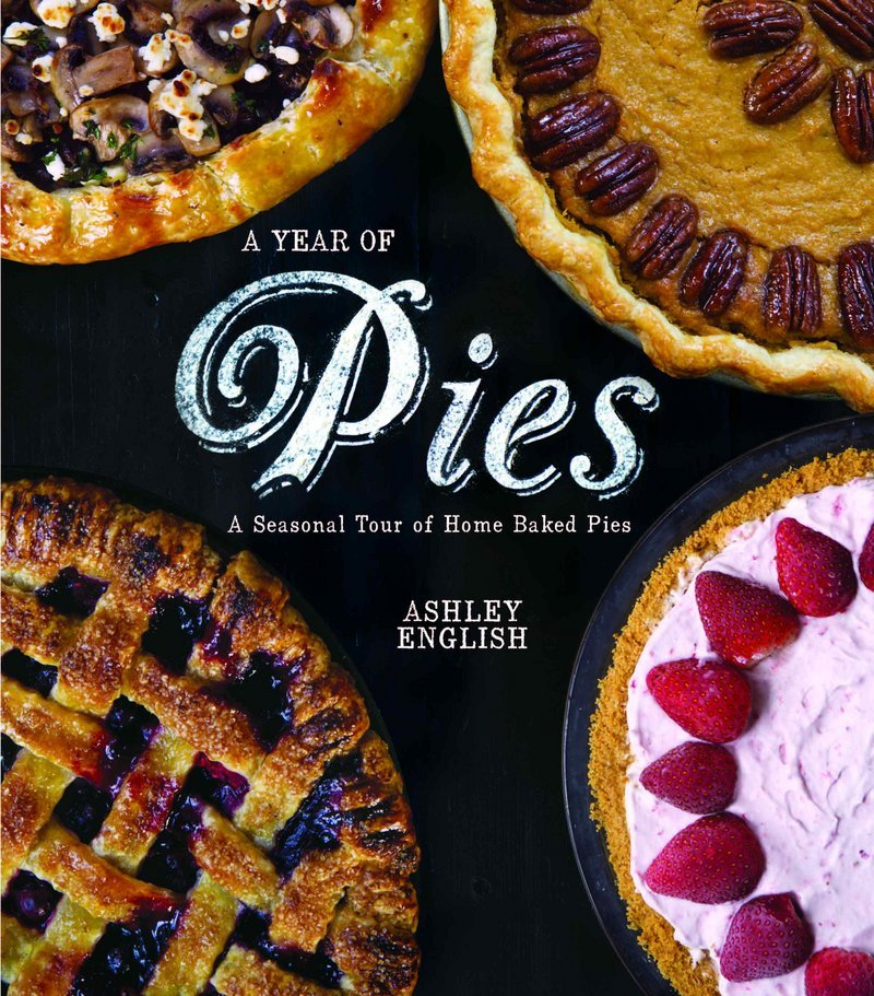 "There is ""considerably less chemistry"" involved in making a pie than in other forms of baking or cooking, says Ashley English, author of ""A Year of Pies."""