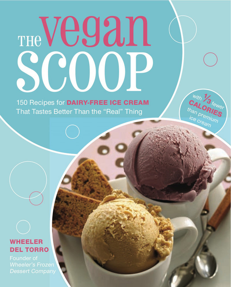 """The Vegan Scoop"" is the product of chef Wheeler del Torro, who owns Wheeler's Frozen Desserts in Boston."