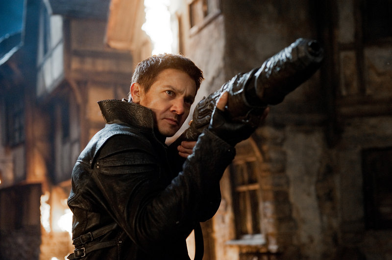 "Jeremy Renner stars in ""Hansel & Gretel: Witch Hunters,"" a violent take on the old fairytale."