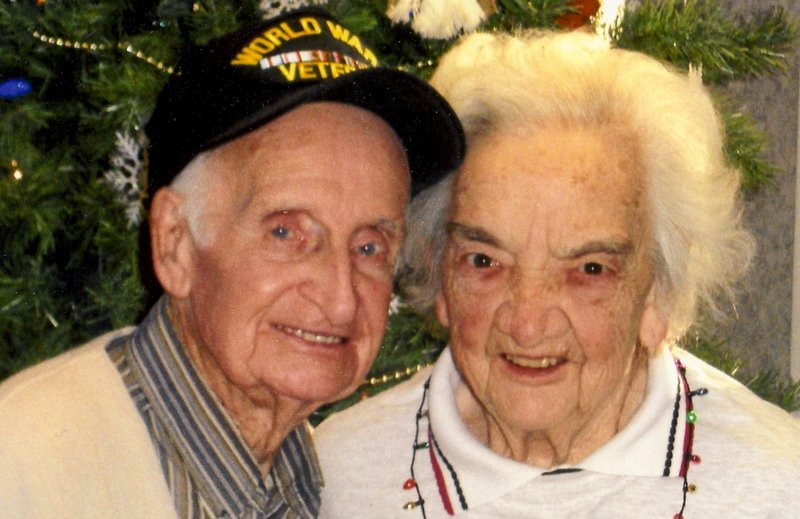 """Margaret and George Adams were married for 65 years and """"went everywhere together,"""" their son says."""