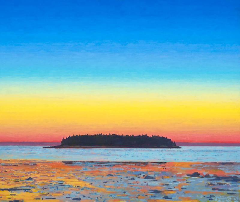 """""""Glow"""" by Tom Curry, from an exhibition of his new work opening Friday at Gleason Fine Art's Portland gallery."""