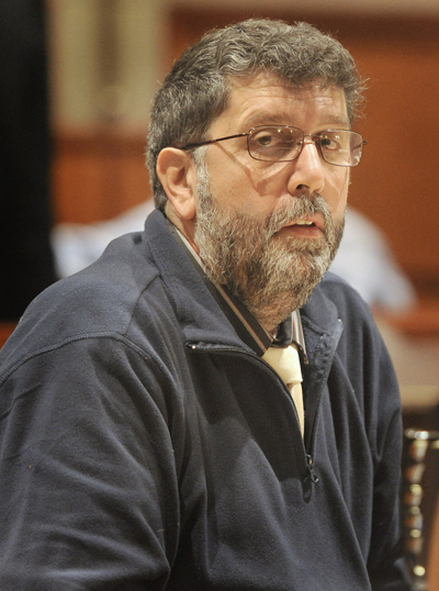 Daniel Tucci appears at his trial in Cumberland County Superior Court in 2013.