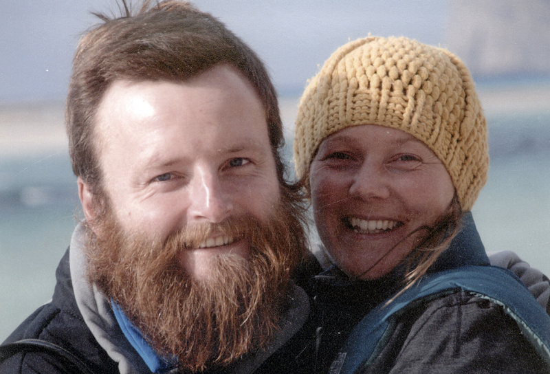 British couple Peter Root and Mary Thompson, both 34, were killed in Thailand last week in a road accident during their round-the-world bicycling odyssey.