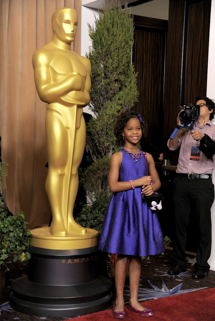 Quvenzhane Wallis, nominated for best actress in a leading role for