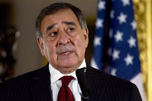 """There is no mistaking that the rigid nature of the cuts forced upon this department, and their scale, will result in a serious erosion of readiness across the force,"" Panetta told employees in a memo. (AP Photo/Jacquelyn Martin, File)"