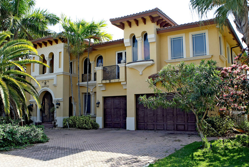 This waterfront home in Boca Raton, Fla., is being occupied by a 23-year-old squatter.