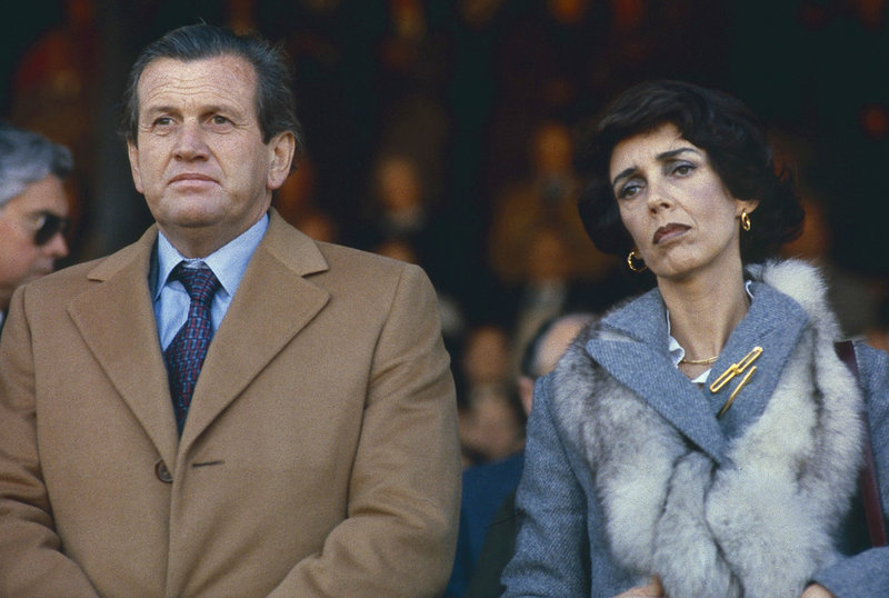 Jorge Zorreguieta, left, father of Argentinean-born Princess Maxima Zorreguieta of the Netherlands, and his wife, Maria del Carmen Cerruti, attend the inauguration of the Rural Exhibition, an annual agricultural and livestock show, in Buenos Aires, Argentina, in 1979. Lawyers in both the Netherlands and Argentina are trying to determine if Zorreguieta had any personal responsibility for forced disappearances during Argentina's