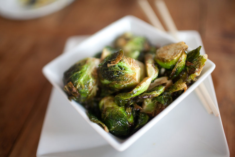 Blogger Meredith Perdue shared a photo that she took of Brussels sprouts at Boda in Portland.