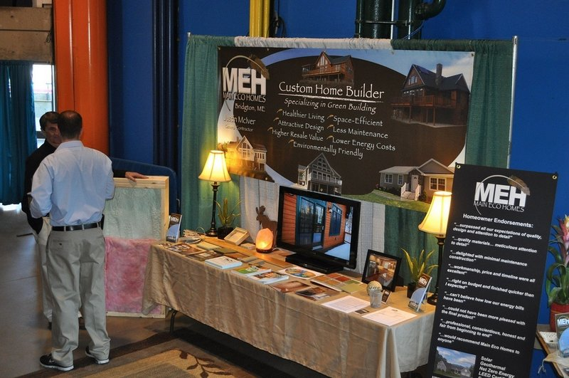 Energy efficiency will be a major theme of this year's Maine Home, Remodeling & Garden Show, says Beth Alles of New England Expos in Mansfield, Mass., which is producing the event. This is an exhibits from last year's show. Courtesy of New England Expos