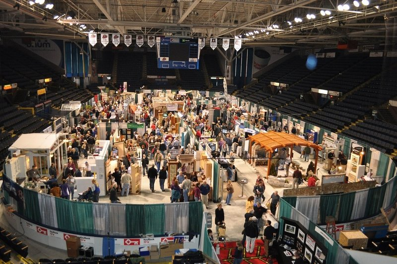 The Maine Home, Remodeling & Garden Show attracts 5,000 to 7,000 people over two days.