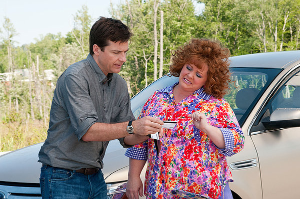 "Jason Bateman and Melissa McCarthy in the road-trip comedy ""Identity Thief."""