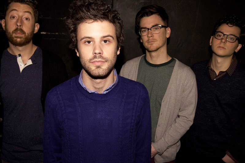 Passion Pit's Jeff Apruzzese, Michael Angelakos, Nate Donmoyer and Ian Hultquist.