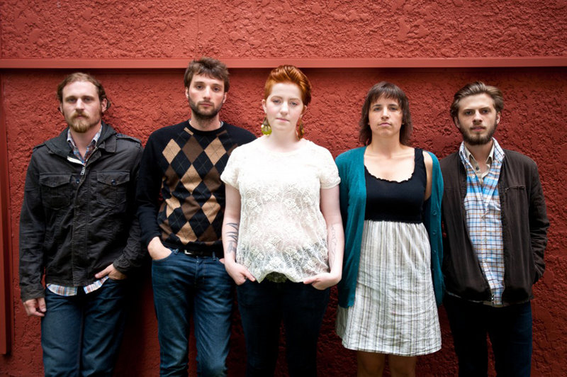 The indie rock ensemble Joy Kills Sorrow performs on Friday at the Unity Centre for the Performing Arts.