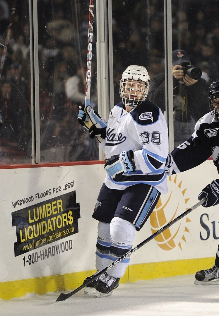 Maine's Joey Diamond is a big reason the Black Bears are 6-3-3 in their last 12 games, with Diamond scoring seven of his 10 goals in that stretch.
