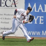 Bryce Brentz, according to the Red Sox, might not be ready to play in spring games until the end of March.