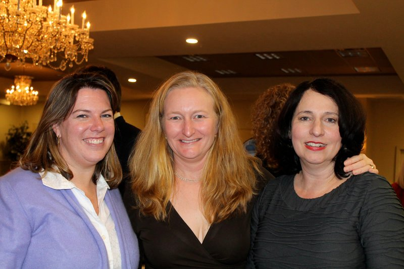 From left, Amy Abbott of Portland with Blanche Belliveau of Saco and Eva Frank of Portland.